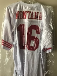 49ers Joe Montana Mitchell and Ness Jersey McDonough