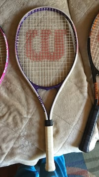 White and purple wilson tennis racket triumph in great condition  Myrtle Beach, 29572