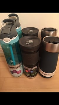 Swell Coffee Mug x 2 Contigo coffee Mug x 3 Contigo water bottle x 3 Richmond Hill, L4B 3V5