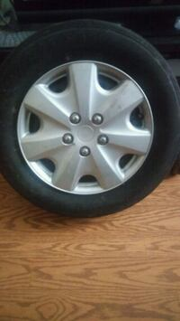 4  5-spoke car wheel with tire from @ chevy mali Tampa, 33617