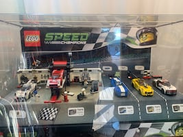 LEGO Speed Champions In Factory Made Acrylic Display Case