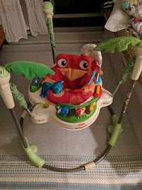 baby's white and green Fisher-Price jumperoo Rockville, 20851