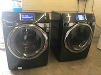 black front-load washer and dryer set Gaithersburg, 20878