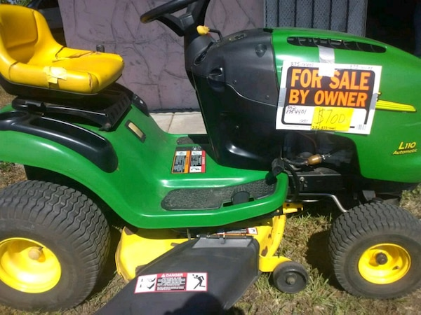 John Deere Lawn Mowers For Sale >> Used John Deere Riding Lawn Mower Great Condition For Sale In Ocala