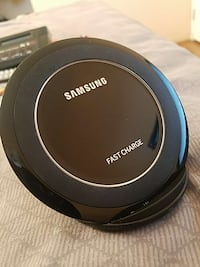 Brand new samsung stsnd up wirless charger. 75new