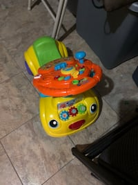yellow and green Fisher-Price learning walker Ashburn, 20147