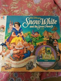 Snow White and tbe Seven Drafs board game Longueuil, J3Y 2Y9