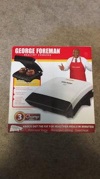 George Foreman Healthy Cooking Grill Toronto, M2M 1P6