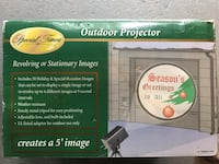 New Outdoor Projector w/50 holiday & special occasion images Northport, 11768