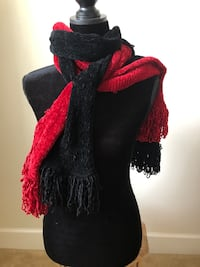 Nordstrom made in Italy scarves. Gently used. Selling 2 red blk Alexandria, 22310