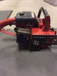 Vintage Homelite XL chainsaw