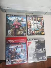 Assorted PS3 Games Brampton