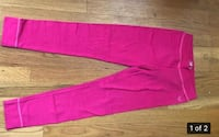 Girls' hot pink, brand new, cotton leggings (or pj bottoms) (size 14) Bethesda, 20817