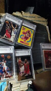 jordan cards all graded. 95 of them Beckett graded Lowell, 01851
