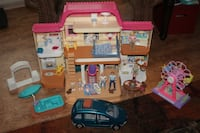 1999 Fisher Price Loving Family Dollhouse & Accessories Pataskala