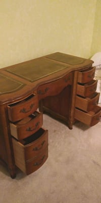 brown wooden 3-drawer chest Palm Harbor, 34683