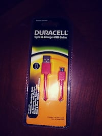 Duracell USB cable box
