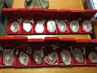 REDUCED: Waterford Crystal Ornaments - 12 Days of Christmas (14 total) Glen Burnie, 21060