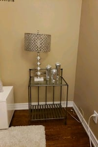 Beautiful Glass Top side table  Toronto, M9C 4T4