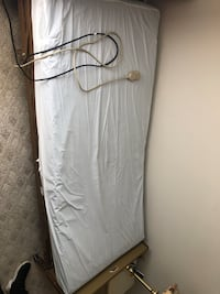 Power hospital bed with remote