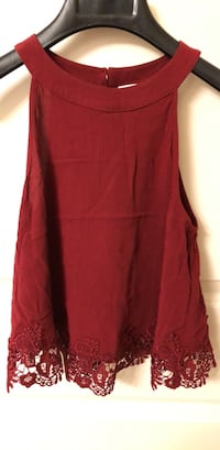 Abercrombie Fitch size S - red top  Tysons