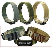 Army style collar and leashes