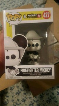 Firefighter Mickey Funko Pop  Elizabeth, 07206