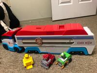 Paw patroller with 3 characters Edmonton, T5Y