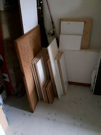 This is all that's left of the free shelving
