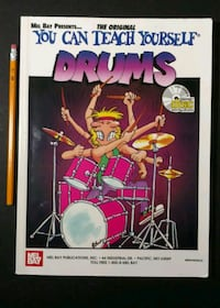 Mel Bay's You can Teach Yourself Drum's