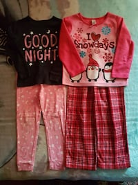 size 4 pjs in excellent condition  Coquitlam, V3B 4T4
