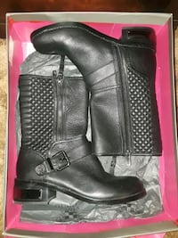 Leather boots 2412 mi