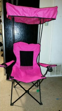 pink and black camping chair Rosenberg, 77471