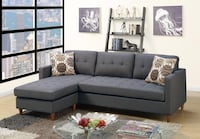 Brand new gray linen sectional Silver Spring, 20902