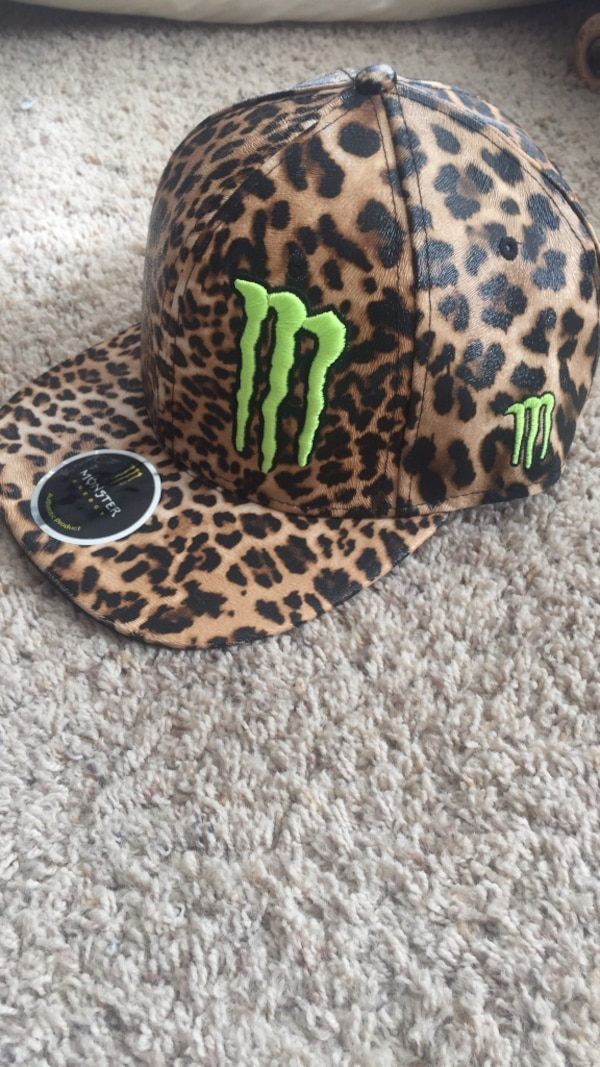 0853dee2313ee Used OBO Monster Energy Athlete Only SnapBack Hat for sale in ...
