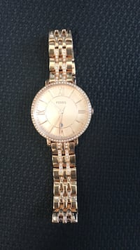 Rose gold women's fossil watch Toronto, M2J