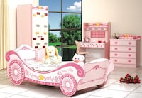 Pink Kids Car Bed Edmonton, T6E 0K9
