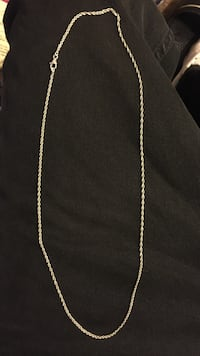 silver chain necklace with lobster lock Sacramento, 95822