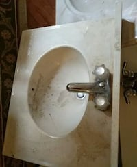 white ceramic sink with faucet South Amboy, 08879