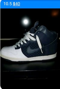 Two-tone blue and white SB Dunks used decent condi Frederick, 21701