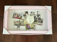 "Brand New Pink Shadow Box (for your favourite photos). Measures 11"" x 18"" East St. Paul, R2E 0A5"