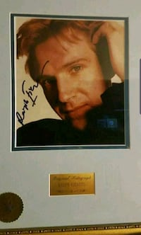Ralph Fiennes (Lord Voldemort) Framed Autograph. COA from WDC Fall River, 02720