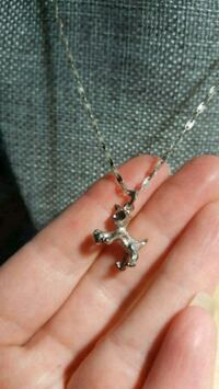 Kitten pendant necklace Calgary, T2B 2V1