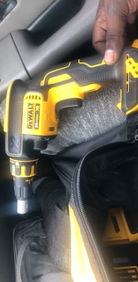 yellow and black Dewalt cordless power drill Suitland, 20746