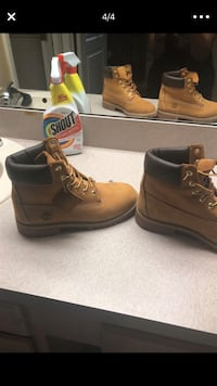 Size 7 timberlands only worn once Valrico, 33596