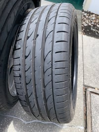 Like-New Otani 235/45-R19 Summer UHP Tire! Needs Patch or Plug. Clean!