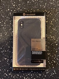 Caudabe iPhone X Protective Case (Black) Brand New  Vaughan, L4H 0Z1