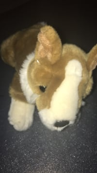 brown and white dog plush toy Alexandria, 22315