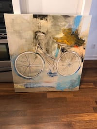 Large canvas (Bike)