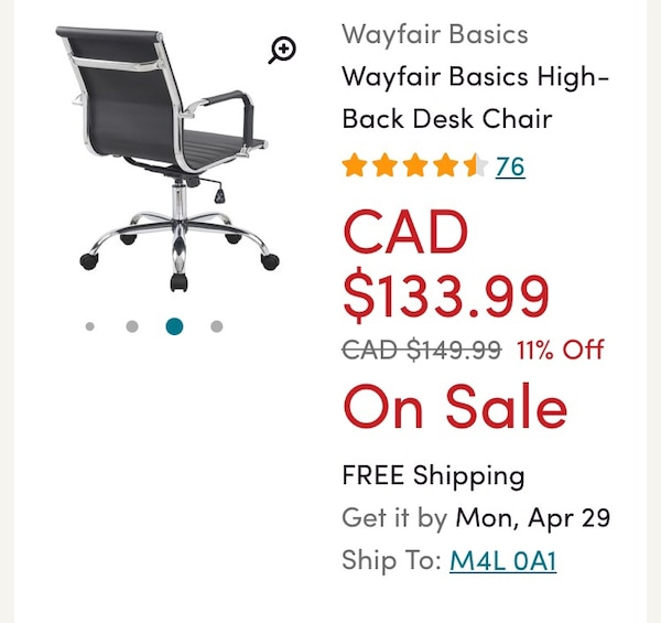 black and gray leather padded rolling chair screenshot 284449e7-d0ae-446a-9bf5-73aa7ad16914